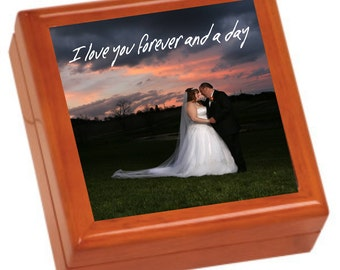 Personalized Photo Jewerly Box