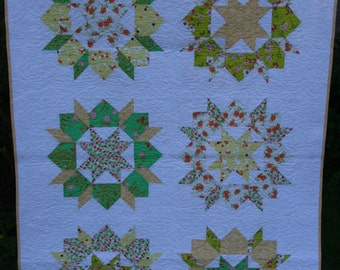 Spring Swoon Patchwork Quilt