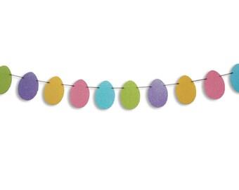 Easter Egg Garland, Easter Egg Banner, Easter decoration