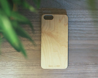 Wooden case for iPhone 6/6S handcraft in France with french FSC wood, ultra slim and solid for and unique design