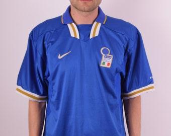 Vintage Nike Premier Jersey Italia Size XL (534)
