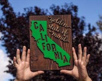 California State Wood Decor