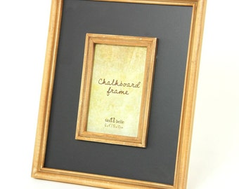 Chalkboard Border Photo Frame - BOU316