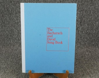 The Bacharach And David Song Book By Bacharach And David C.1970