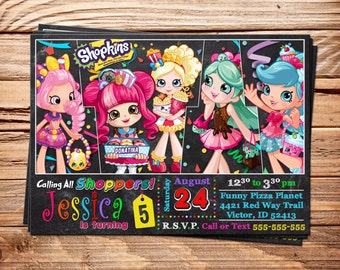 Shopkins 15 Coloring Pages Party