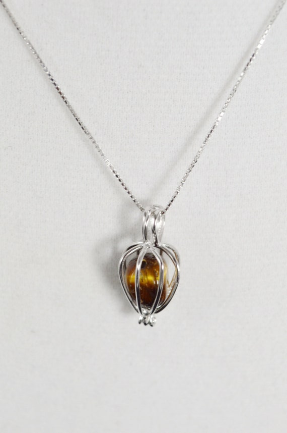 tiger eye sterling silver necklace tiger eye tear drop