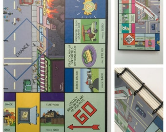 Simpsons Monopoly Journal