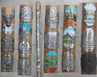 Antique Walking Stick, Walking Cane, Souvenir, Home Decor, Shabby Chic, Unique, Gift Idea, Vintage Cane, Germany Cane, Germany Walking cane4
