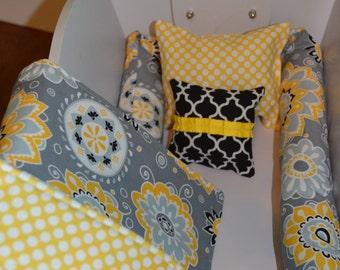 "Doll Cradle Bedding Set-15"" doll bedding set-Cradle bedding set-Baby Doll Bedding-Doll Cradle Bedding-Cradle Bedding-Choose Your Fabric!"