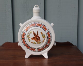 FP ZAJECAR Yugoslavia Ceramic Pottery Flask