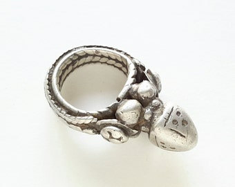 Antique Yemen Silver Ring  tribal jewelry