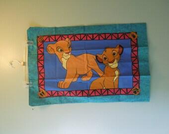 SALE 90s Lion King Pillow Case