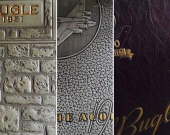 25 Piece Vintage 50's Yearbook Ephemera/Collage/Mixed Media/Papercraft Kit