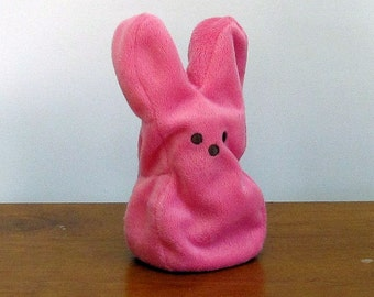 Pink Bunny Peep Puppet by The Puppet Patch