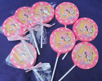 12 Girl Mouse #1 chocolates lollipops