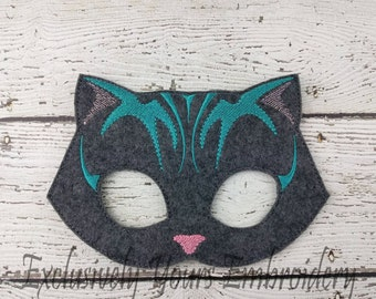 Laughing Cat Children's Felt Mask  - Costume - Theater - Dress Up - Halloween - Face Mask - Pretend Play - Party Favor