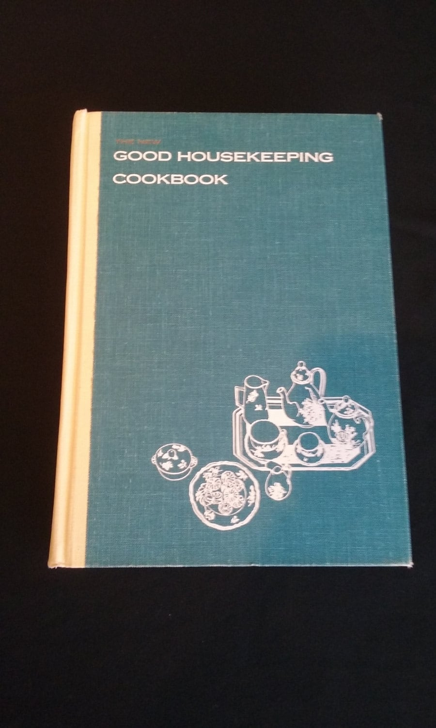 1963 Vintage The New Good Housekeeping Cookbook American Classic Hardcover