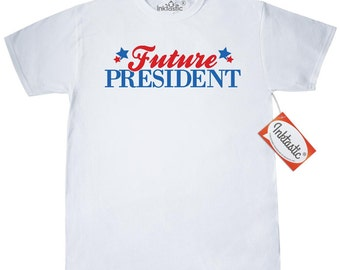 Future President T-Shirt by Inktastic