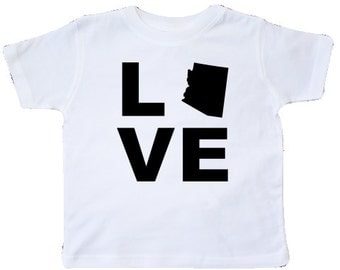Love Arizona Toddler T-Shirt by inktastic