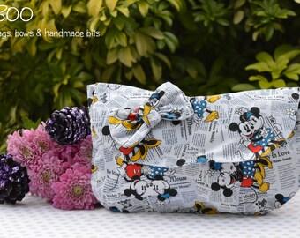 Minnie Mouse White Clutch Bag
