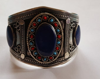 Afghan hand made cuff bracelet