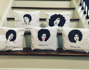Naturally Unbothered Collection Bags