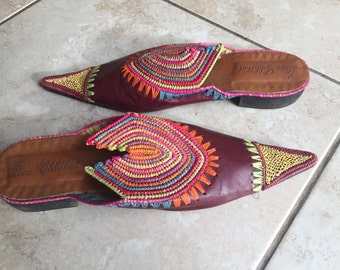 Beautiful handmade leather shoes size 5-6