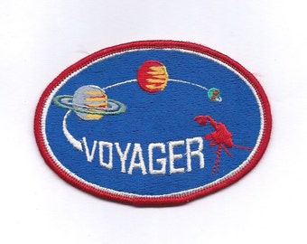 Vintage Space Voyager Patch