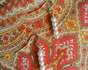 Simple Pearl Dangles