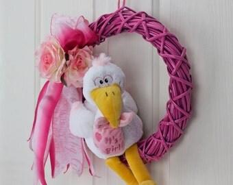 It's A Girl Stork