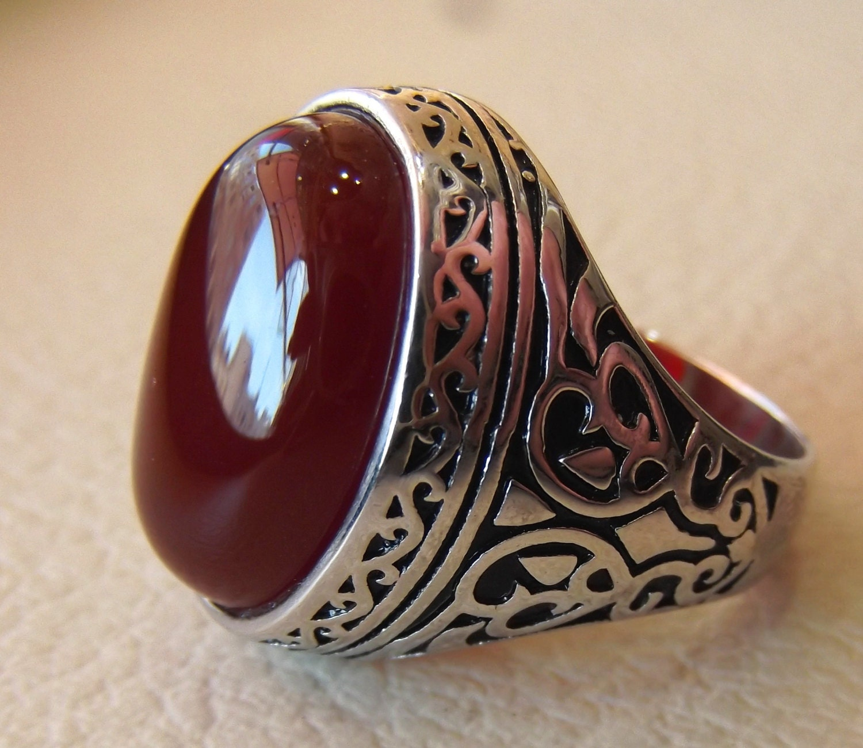 Aqeeq Mens Ring