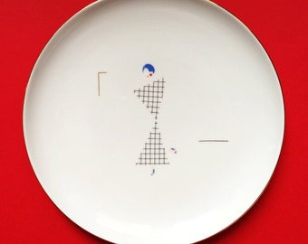 Coco - illustrated plate