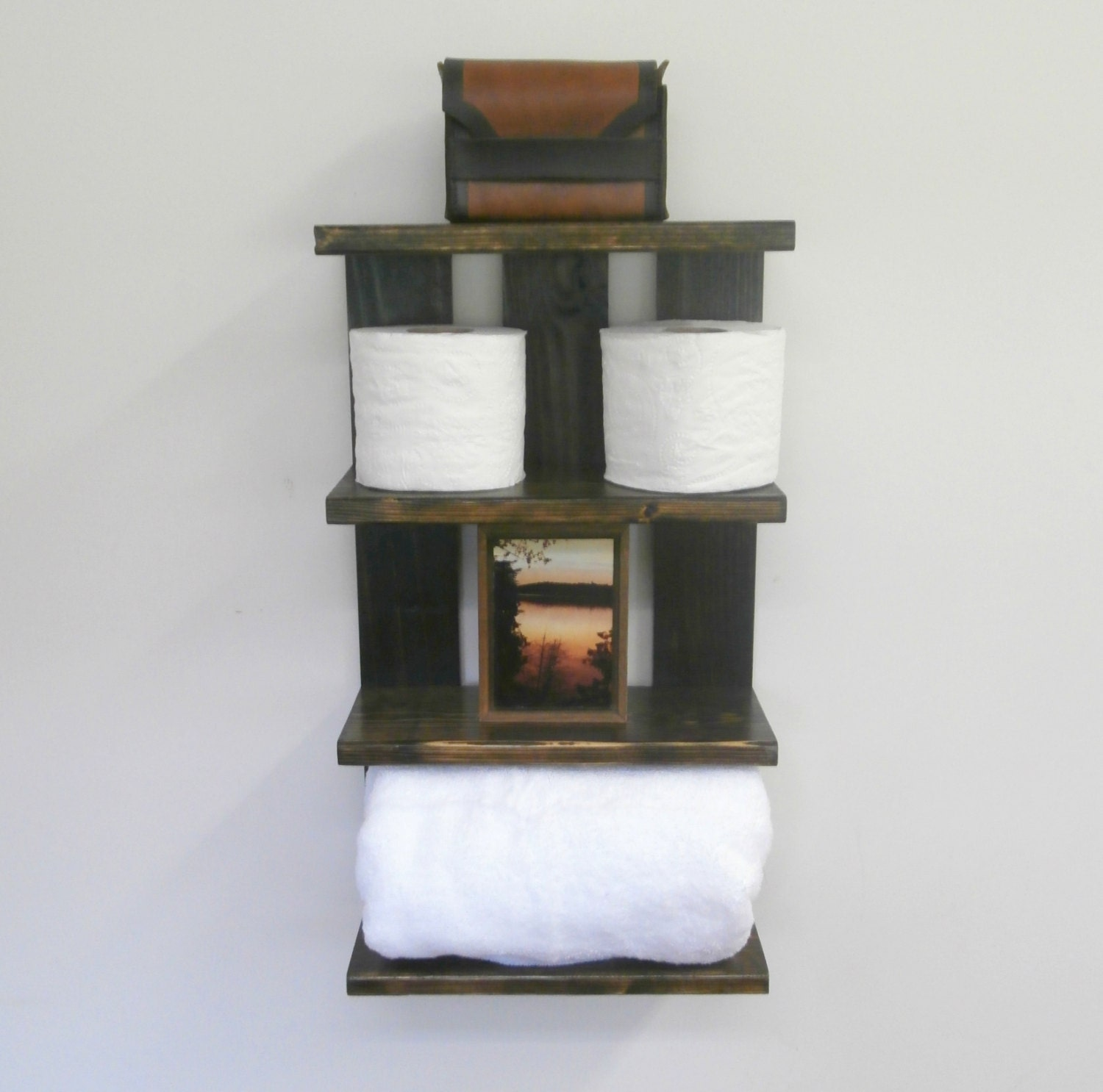 Bathroom Open Shelving For Towels Rolled Bath Towel Wall