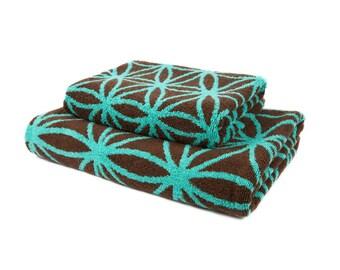FREE SHIPPING Luxury Bath Towel Set Bathroom Decor Valentine for Boyfriend Valentines Day Gift for Men Gift for Husband