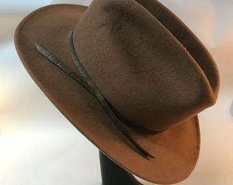 Rockmount Ranch Wear Black Wool Hat Mens