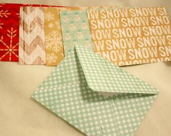 Handmade Envelopes - WINTER prints