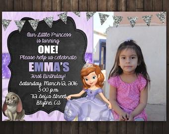 Sofia the First Invitation, Sofia