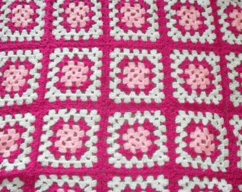 Custom Made Crochet Granny blankets