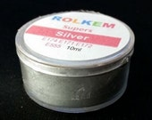Silver Metallic Super Dust By Rolkem Silver Highlighter Dust DUS241