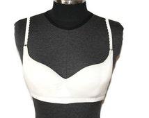 Organic bra, cotton bra, cup bra, organic cotton top, organic cotton underwear