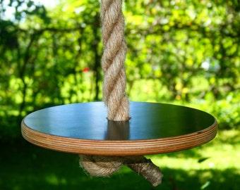 Disk Rope Swing, Large Disk Tree Swing, 6 30 Feet 2 10