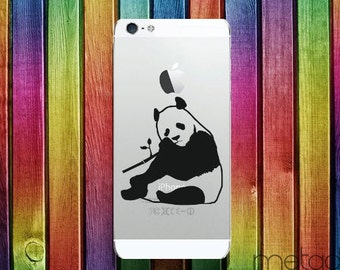 Panda iPhone Sticker Decal for 6 6 Plus 6S 6SE 7 iphone stickers, iphone accessories, apple decals, phone stickers, stickers for phone cases