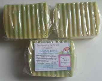 Lemongrass Defender handmade natural soap
