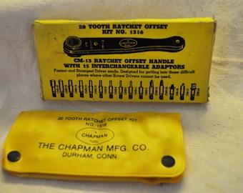 The Chapman Mfg Co Rachet Tool