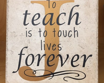 Teacher Decorative Tile