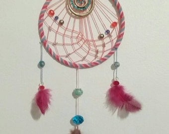 Carnival Cotton Candy Dream catcher  (second edition)