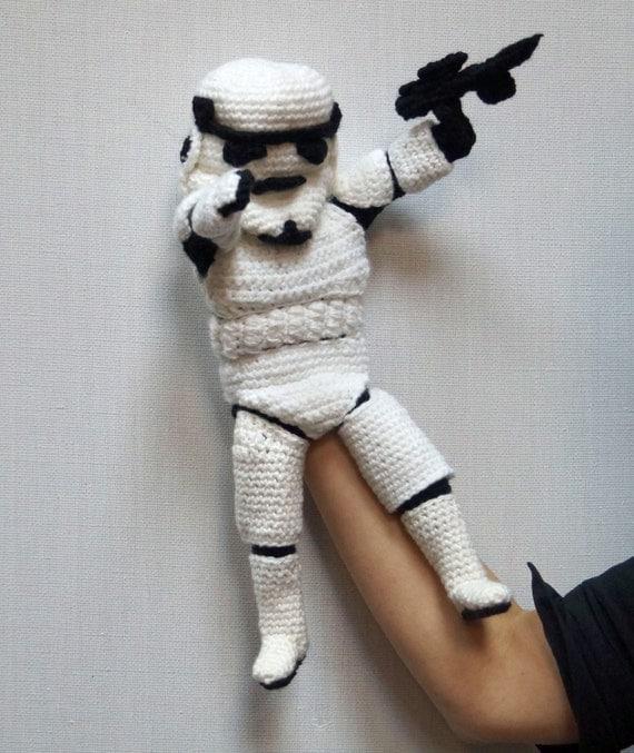 Star Wars Crochet Amigurumi Pattern PDF, Yoda, Kylo Ren