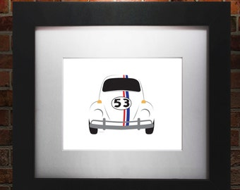 Herbie Simplistic Illustration
