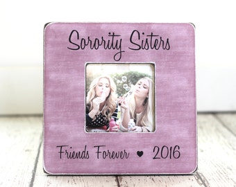 Sorority Big Sister Little Sister GIFT Picture Frame Personalized GIFT Rush Week