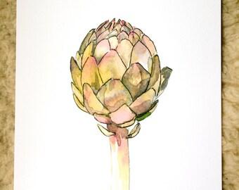 Vers: artichoke print